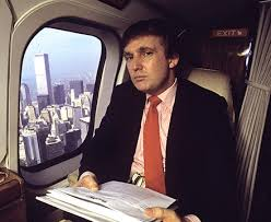 Donald Trump in the 1980s.