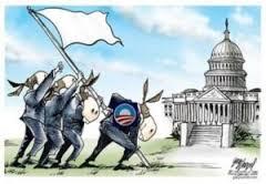 ObamaDemocratsWhiteFlag