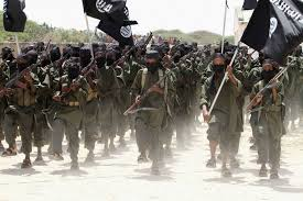 ISIS-MarchersFlags
