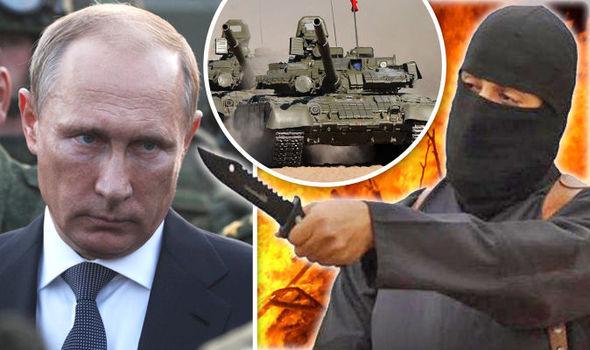 PutinISISKnifeManTankMontage