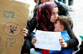 SyrianRefugee-OpenTheBorderPoster