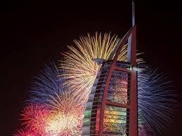 DubaiFireworksSailHotel