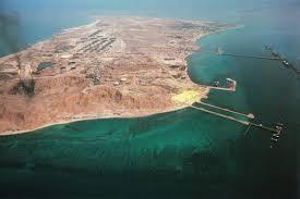 Farsi Island's Iranian naval base.