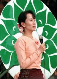 Aung San Suu Kyi of Myanmar.