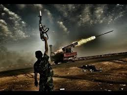 SyriaAleppo-LaunchGunUpraised