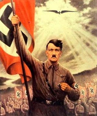HitlerFlagMessianicBlackEagle