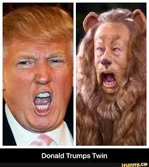 TrumpCowardlyLion