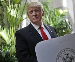 TrumpPresidentialLookingVoting