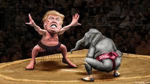 TrumpSumoGOPElephantConvention