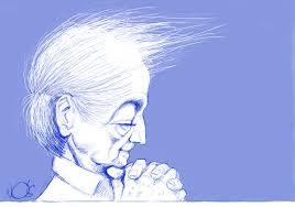 Krishnamurti-Cartoon