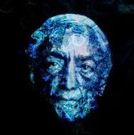 Krishnamurti-bluepatternportrait