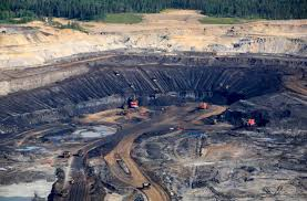 "You've heard of the Black Hole of Calcutta? Here's the Athabascan tar ""black hole"" of CanADa"" lot of CO2 to tip the climate into a new and hot dark age."