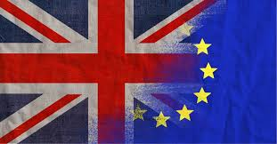 BrexitBritainUnionJackFadetoEUFlag