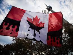 CanadianOilDripFlagToronto