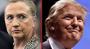 ClintonGlaringTrumpSmiling