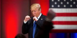 TrumpFistsUpBoxingPostion