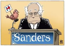 BernieBirdwHillaryClintonSign