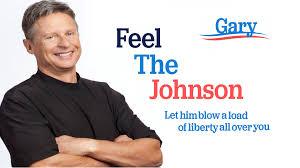 GaryJohnsonFeeltheJohnsonPoster