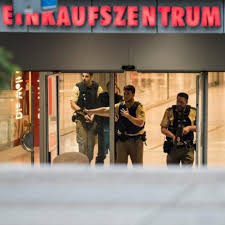 GermanPoliceTerrorEinkaufszentrum