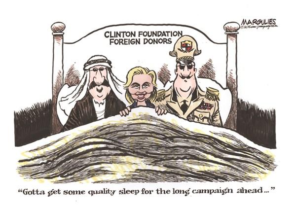 HillaryClintonCartoonDictatorBedfellowsGetQualitySleep