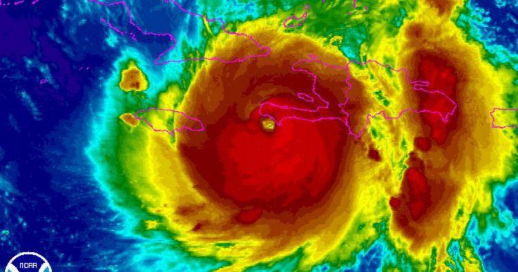 hurricane-matthew-coloredsatelliteshotstormoverhaiti