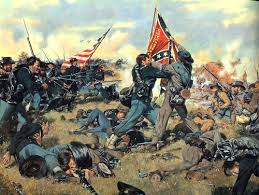civilwargettysburgbattle4flags