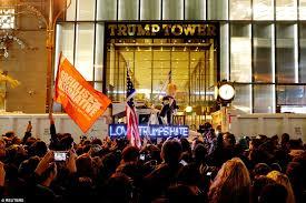 trumptowerprotesters