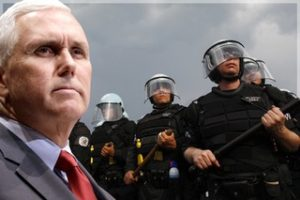 MikePenceLineofCops