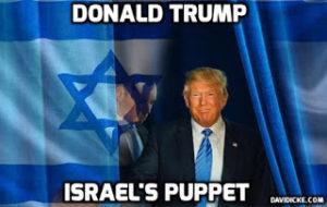 TrumpIsraelsPuppet