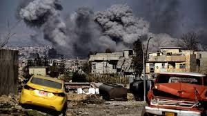 Mosul-GrayAirstrikeSmokeSkyline