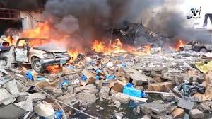Mosul-RubbleStreetTruckWallofFire