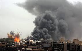 Mosul-SkylinefireballsBlackSmoke