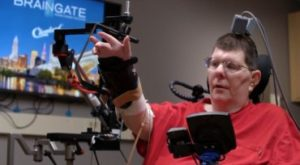 Paraplegic-breakthrough-Kochevar Demonstrating