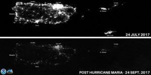 PuertoRicoNightbefore-afterHurricaneMariaNOAA