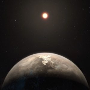 600px-Artist's_impres_planet_Ross_128_by ESO:M. Kornmesser