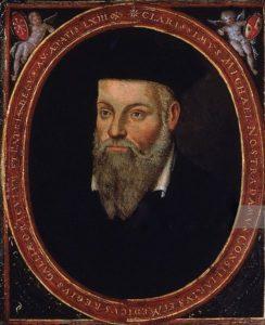 Nostradamus (1503-1566) Painting by Cesar de Nostradamus.