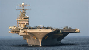 USS Abraham Lincoln. Source US Navy.