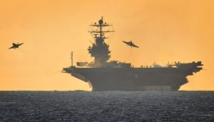 USS Harry S. Truman supercarrier: capital ship or a capital loss to carrier-killing ASBMs? Source: US Navy.