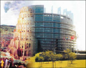 I don't know. Is it just me? But did the designers construct the EU commissioners' tower to look like the Tower of Babel?