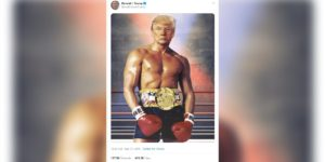 Source of Trump/Stallone Rocky III photo: @realDonaldTrump/Twitter.