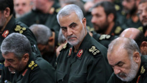 Iranian General Qassem Soleimani, Chief of al-Quds IRGC Special General Qassem Soleimani. Source AFP Khamenei.ir.