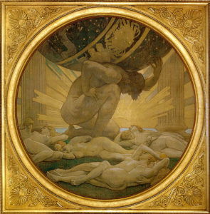 Atlas and the Hesperides by John Singer Sargent, 1925.