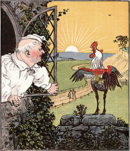 Illustration by Randolph Caldecott.