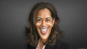 Kamala Harris by DonkeyHoty, © Creative Commons.