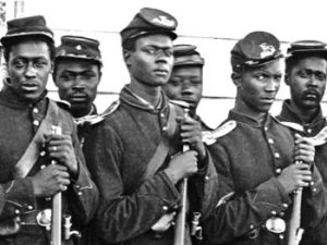 Black lives mattered and 70,000 died in the US Civil War on the Union side to end slavery.