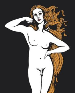 Transgender Venus by Uffizi, © Creative Commons.
