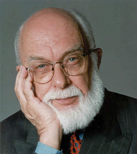 Nostradamus and James Randi, © Creative Commons.