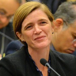 Samantha Power circa 2015.