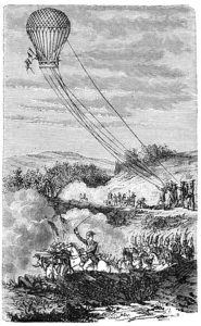 296px-Wonderful_Balloon_Ascents,_1870_-_Employment_of_a_Balloon_at_the_Battle_of_Fleurus