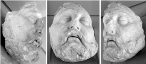 Death Mask of Henry II of France.